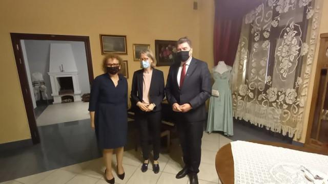 Wizyta Pani Ambasador Wielkiej Brytanii w Oświęcimiu