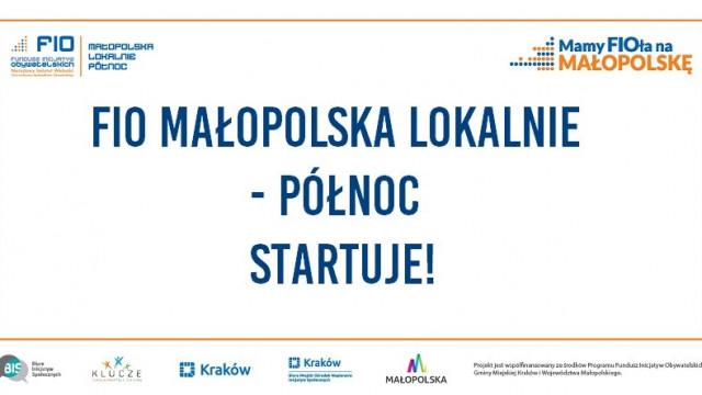 Wkrótce wystartuje konkurs FIO Małopolska Lokalnie -Północ