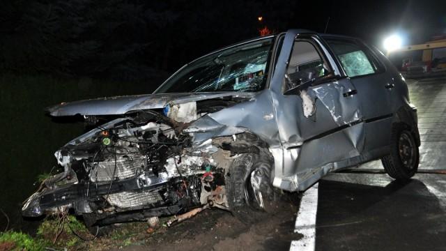 WŁOSIENICA. Groźny wypadek na krajówce. 21-letnia kobieta trafiła do szpitala