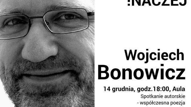 Wojciech Bonowicz w oświęcimskiej książnicy