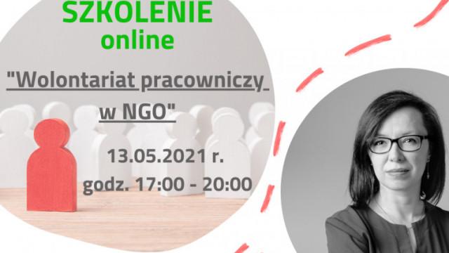 Wolontariat pracowniczy w NGO. Szkolenie online