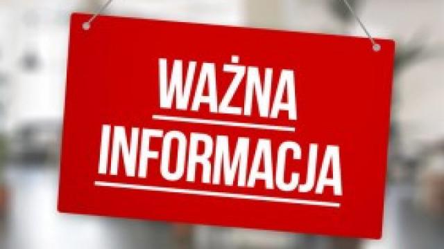 Wydział Komunikacji w Kętach we wtorek czynny krócej