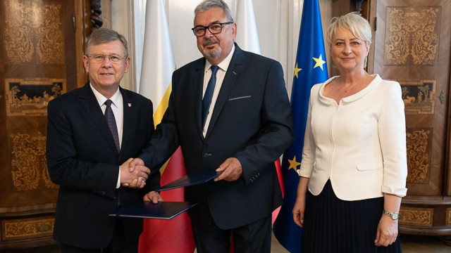 WYGIEŁZÓW. Nowy dyrektor małopolskiej instytucji kultury