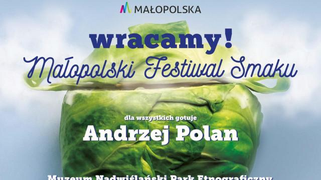 WYGIEŁZÓW. W niedzielę 1 sierpnia odbędzie się Małopolski Festiwal Smaków