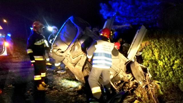 Wypadek drogowy na DK44 we Włosienicy – ZDJĘCIA!