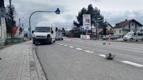 Wypadek drogowy w Bulowicach. Potrącono pieszego