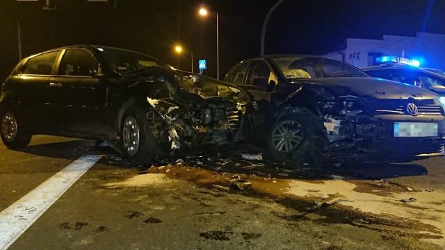 Wypadek drogowy w Chełmku na DW 780. ZDJĘCIA!