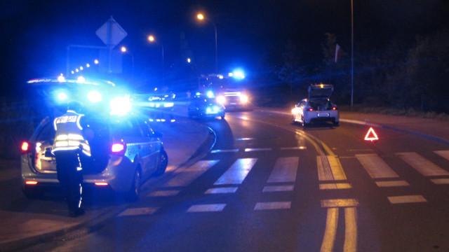 Wypadek drogowy z udziałem nietrzeźwego rowerzysty