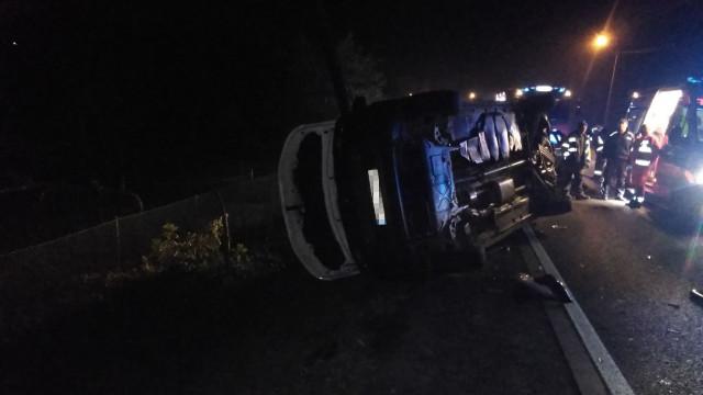Wypadek dwóch pojazdów w Zatorze na ul. Krakowskiej (DK44). ZDJĘCIA!