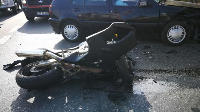 Wypadek na DK44, na miejsce leci Śmigłowiec LPR – ZDJĘCIA!