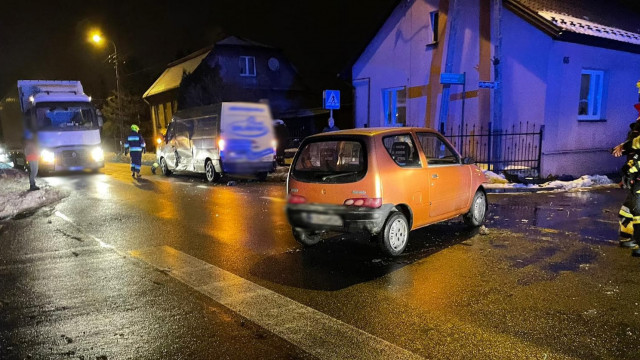 Wypadek na DW948 w Kętach. Obwodnica zablokowana