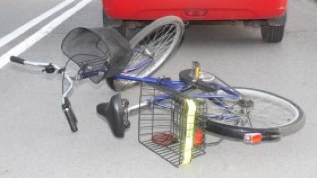 Wypadek na Fabrycznej - ranny rowerzysta