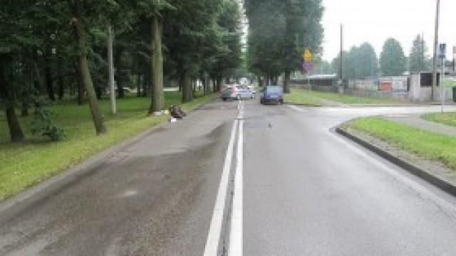 Wypadek na skrzyżowaniu Sobieskiego z Młodzieży Polskiej