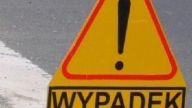 Wypadek na skrzyżowaniu w Kętach
