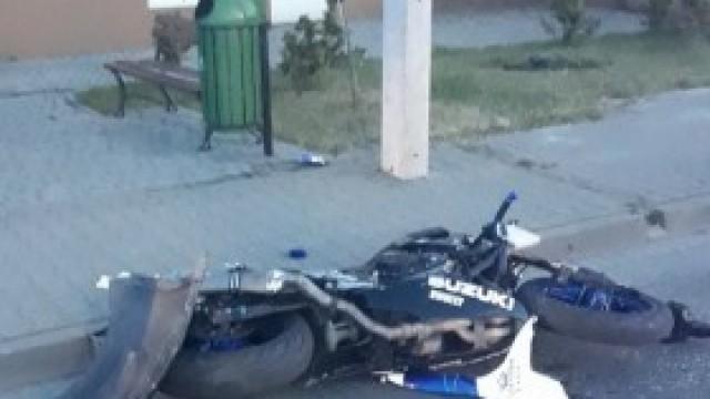 Wypadek na Sobieskiego w Kętach