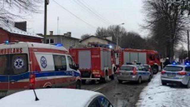 Wypadek na ul. Sobieskiego w Kętach. Nie obyło się bez użycia narzędzi hydraulicznych