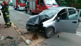 Wypadek na ulicy Legionów