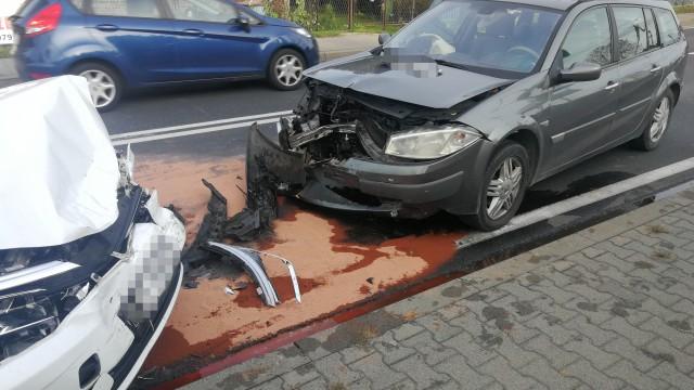 Wypadek w Babicach. Poważne utrudnienia na DK44 – ZDJĘCIA!