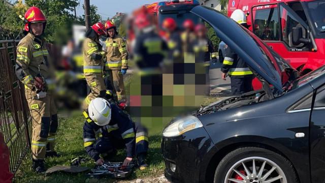 Wypadek w Osieku. Trwa akcja ratownicza – ZDJĘCIA!