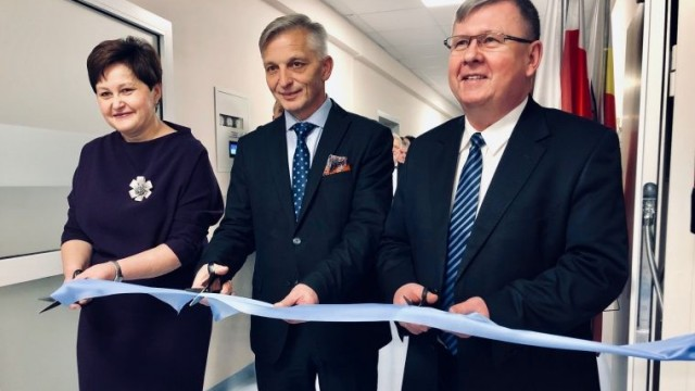 Wyremontowane oddziały szpitalne oficjalnie oddano do użytku - InfoBrzeszcze.pl