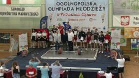 Wysokie miejsca naszych sztangistów na Ogólnopolskiej Olimpiadzie Młodzieży