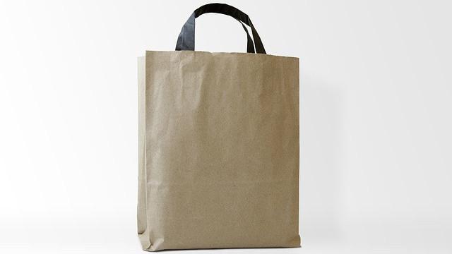 Wysokiej jakości naczynia biodegradowalne i torby papierowe brązowe