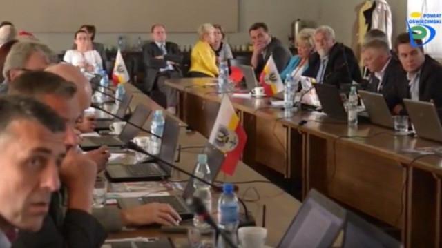 X Sesja Rady Powiatu w Oświęcimiu [ZOBACZ VIDEO]