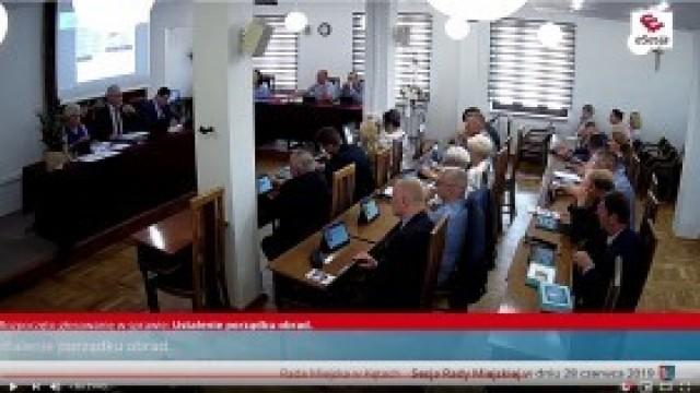 XI Sesja Rady Miejskiej w Kętach - transmisja na żywo