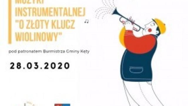 """XII Konkurs Muzyki Instrumentalnej """"O Złoty Klucz Wiolinowy"""". Zapraszamy do udziału!"""