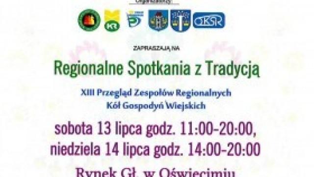 XIII Przegląd Zespołów Regionalnych już w najbliższy weekend