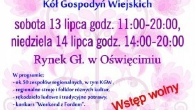 XIII Przegląd Zespołów Regionalnych Kół Gospodyń Wiejskich w Oświęcimiu