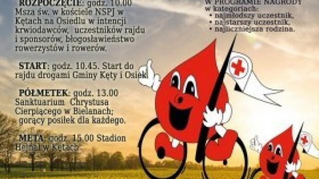XVII rajd Honorowych Dawców Krwi - zaproszenie