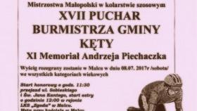 XVII Wyścig Kolarski o Puchar Burmistrza Gminy Kęty