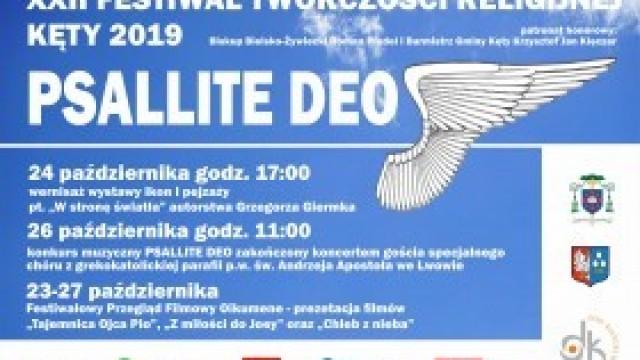 XXII Festiwal Twórczości Religijnej PSALLITE DEO. Zapraszamy!