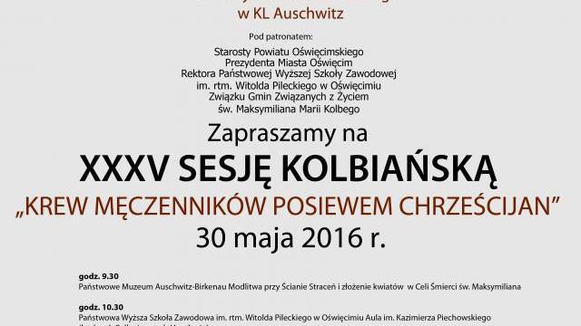 XXXV Sesja Kolbiańska