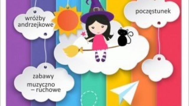 Zabawa andrzejkowa dla mamy i dziecka - w Domu Kultury w Kętach