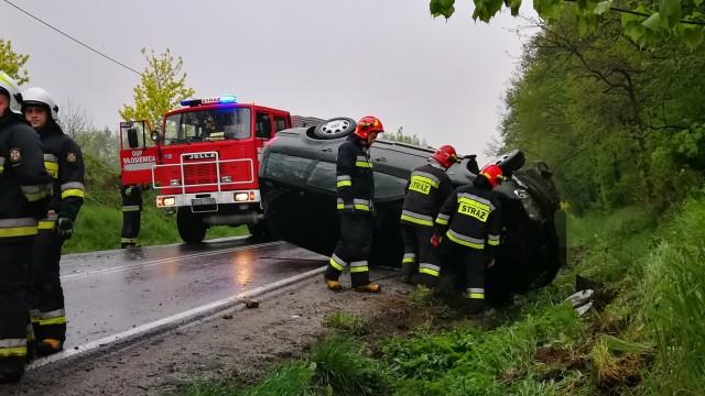 Zablokowana DK44 we Włosienicy – ZDJĘCIA!
