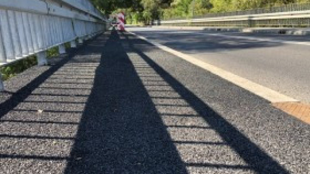 Zakończył się remont chodnika na moście Kęty Podlesie