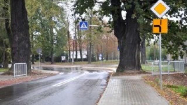 Zakończył się remont na drogach powiatowych w Malcu. To ważna inwestycja dla sołectwa