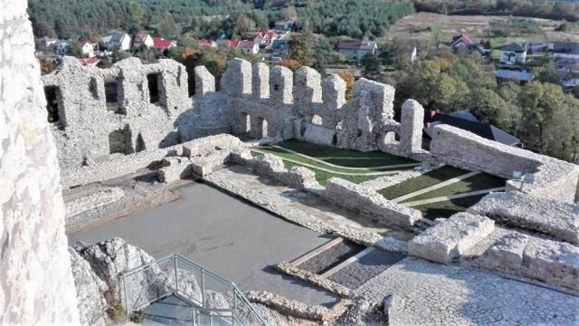 Zamek w Rabsztynie bez barier dla osób niepełnosprawnych