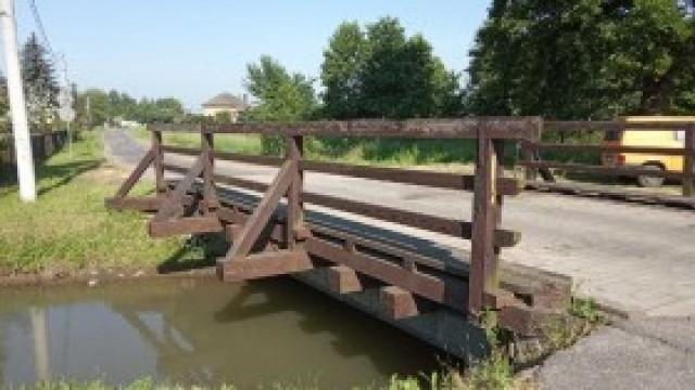 Zamknięcie mostu na ul. Kańczuga w Bielanach