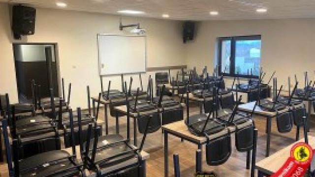 Zaplecze szkoleniowo–socjalne po remoncie