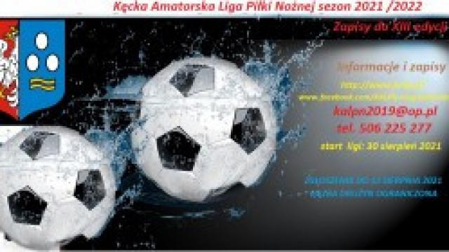 Zapraszamy do udziału w XIII edycji rozgrywek Kęckiej Amatorskiej Ligi Piłki Nożnej