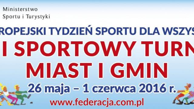 Zapraszamy do udziału w XXII Sportowym Turnieju Miast i Gmin