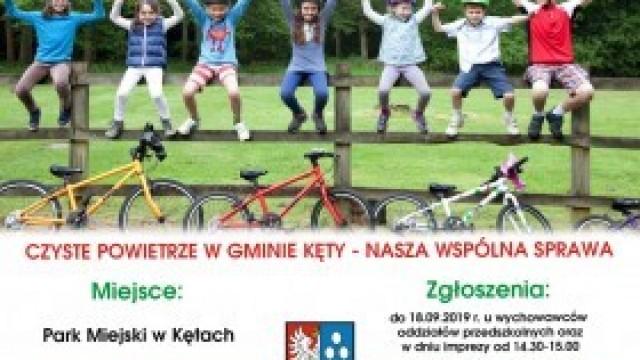 """Zapraszamy na drugi """"Tour de Kęty - Rajd Przedszkolaka w Gminie Kęty""""!"""
