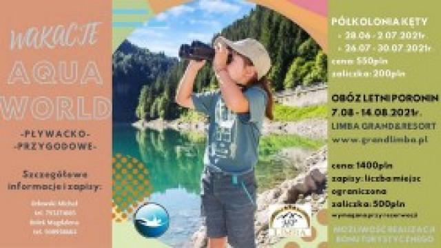 Zapraszamy na wakacje ze Szkołą Pływania AQUA WORLD [materiał sponsorowany]