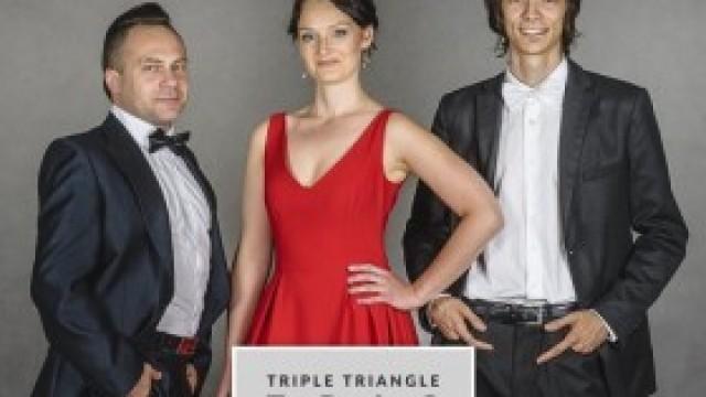 Zaproszenie na koncert Triple Triangle Trio w Domu Kultury w Kętach