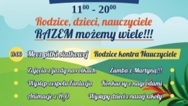 Zaproszenie na Piknik Rodzinny