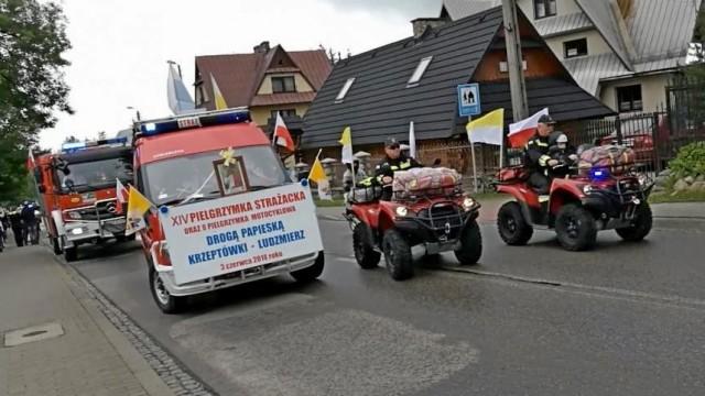Zaproszenie na Podhalańską Pielgrzymkę Samochodową i Motocyklową Strażaków