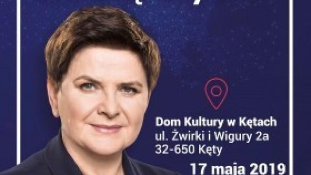 Zaproszenie na spotkanie z Beatą Szydło